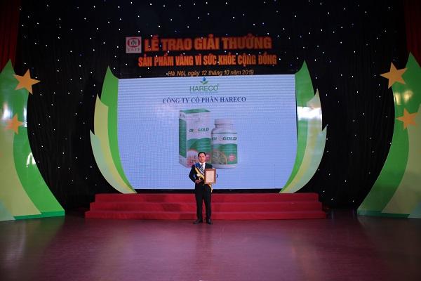 hareco giải thưởng vàng vì sức khỏe cộng đồng