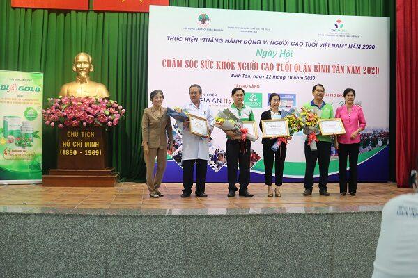 diagold chăm sóc sức khỏe người cao tuổi quận Bình Tân